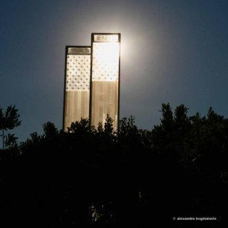 Nine-Eleven memorial. Cos Cob Park, Cos Cob, CT.