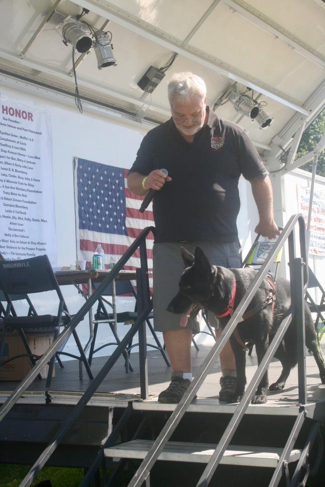 guide dog demo